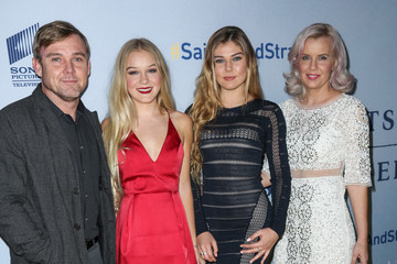 Cambrie Schroder Celebrities Attend the Premiere of 'Saints and Strangers'