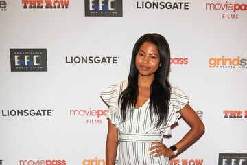 Camille Hyde The Row Premiere At Sunset 5 Theatre