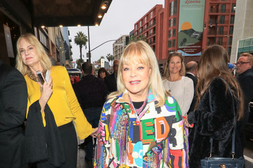 Candy Spelling Candy Spelling Outside Pantages Theatre In Hollywood