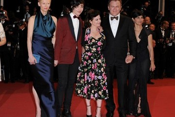 """Tilda Swinton John C. Reilly Cannes 2011 - """"We Need to Talk About Kevin"""" Premiere."""