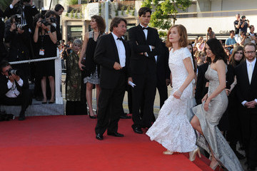"""Isabelle Huppert Asia Argento Cannes Film Festival 2009 - """"Coco Chanel"""" Premiere"""