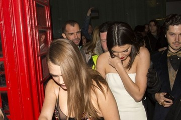 Cara Delevingne Celebs at the British Fashion Awards Afterparty — Part 3