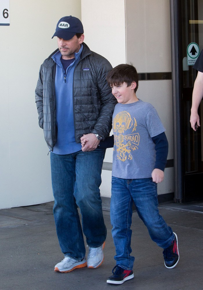 Steve Carell Wife And Kids Steve carrell and family
