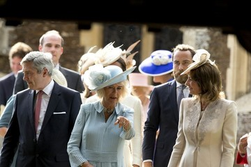 Carole Middleton The Christening of Princess Charlotte