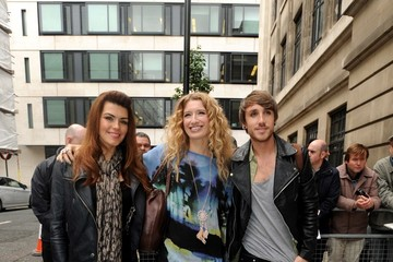 Carolynne Poole 'X Factor' contestants at Radio Two