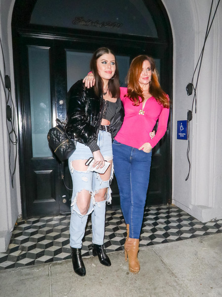 Stars Are Seen At Craig's Restaurant In West Hollywood