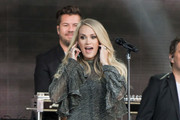Carrie Underwood Performs For 'Kimmel'