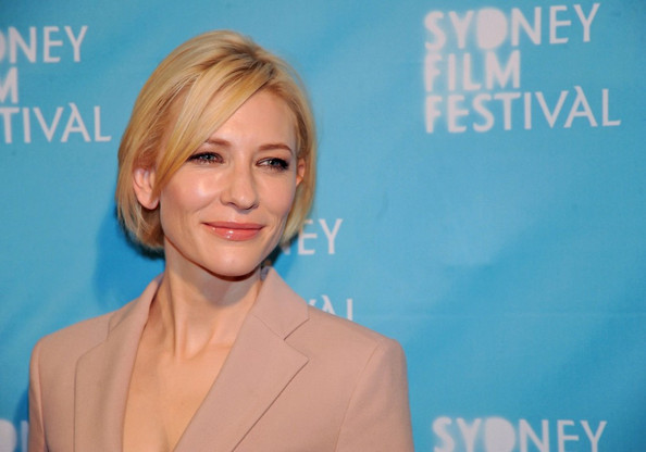"Cate Blanchett attends the 2011 Sydney Film Festival opening night screening of her latest film ""Hanna"" at the State Theatre."