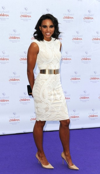16th May 2013.  The 'Caudwell Children Butterfly Ball' held at the Battersea Evolution, Battersea Park, London.Here, Louise Hazel.