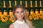 Nina Senicar is seen arriving at the Sixth-Annual Veuve Clicquot Polo Classic at Will Rogers State Historic Park.