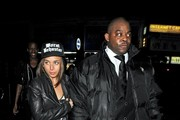 Celebs Spotted Outside Boujis