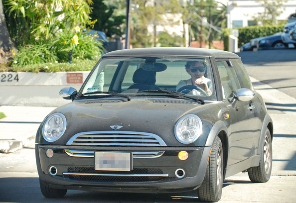 Mini Cooper car - Color: Black  // Description: cute