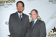 Penn Jillette and Raymond Teller are seen attending the Hollywood Walk Of Fame Honors at Taglyan Complex.