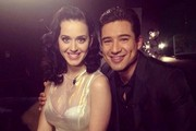 Katie Perry Goes Sheer with Mario Lopez - The Week's Most Stylish Celeb Instagrams: October 21, 2013