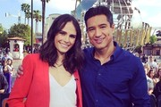 Jordana Brewster and Mario Lopez Kick It - The Week's Most Stylish Celeb Instagrams: March 10, 2014
