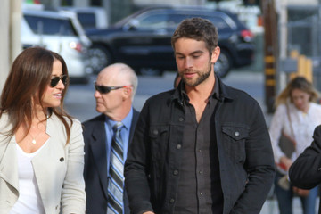 Chace Crawford Chace Crawford Arrives at the 'Jimmy Kimmel' Show