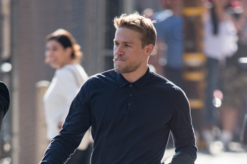Charlie Hunnam Charlie Hunnam Is Seen at 'Jimmy Kimmel Live'
