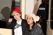 BYLINE: EROTEME.CO.UK.Charlie from MK1 leaving X Factor at Fountain Studios in London.