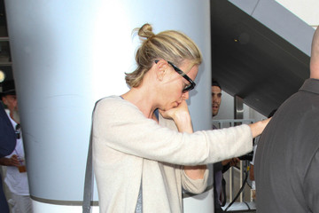 Charlize Theron Charlize Theron Spotted at LAX