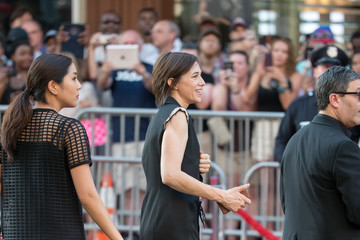Charlotte Gainsbourg Candid Celebrity Arrivals at 'Independence Day: Resurgence' Premiere