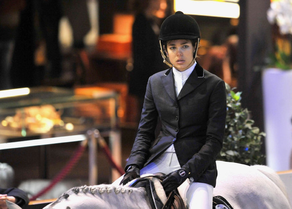 Charlotte Casiraghi Princess Charlotte Casiraghi of Monaco competes at
