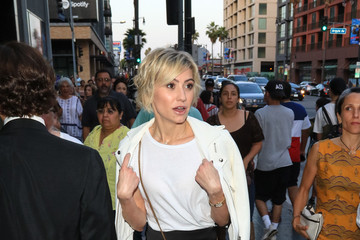 Chelsea Kane Chelsea Kane Outside Pantages Theatre In Hollywood