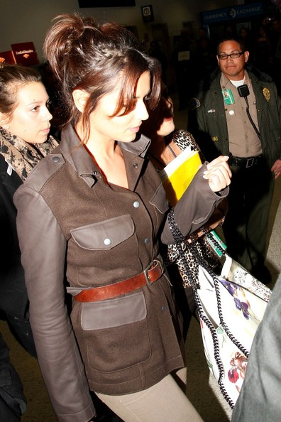 Cheryl Cole Cheryl Cole arrives at LAX.