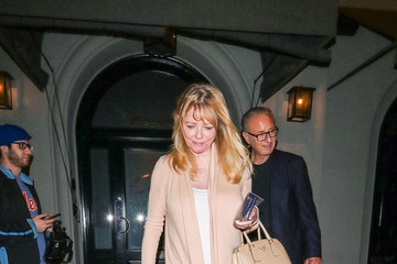 Cheryl Tiegs Cheryl Tiegs Outside Craig's Restaurant In West Hollywood