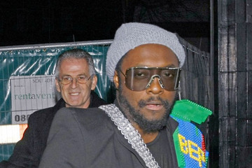 will.i.am Cheryl Cole at a Black Eyed Peas Concert