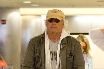 Chevy Chase Chevy Chace and His Wife Arrive in LA