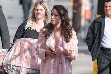 Chloe Bennet Chloe Bennet Appears on 'Kimmel'