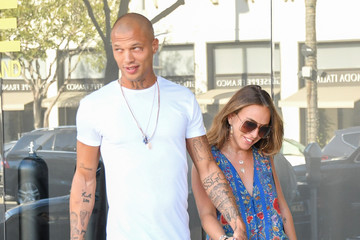 Chloe Green Jeremy Meeks Is Seen Out in L.A.