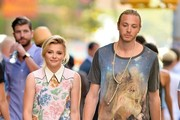 Chloe Grace Moretz Out with Her Brother