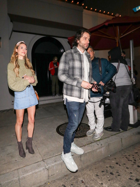 Chris D'Elia Dines Out At Craig's Restaurant In West Hollywood
