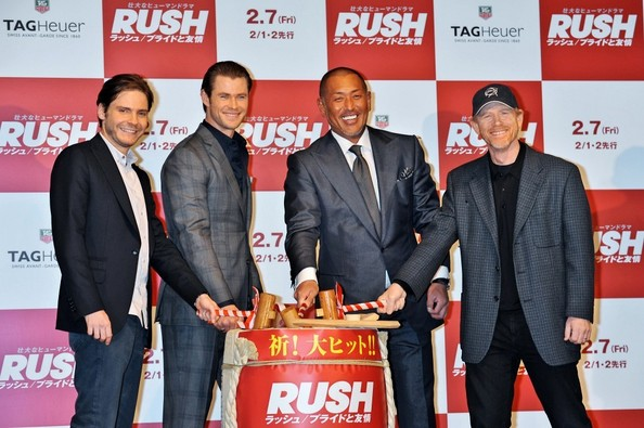 'Rush' Press Conference in Tokyo
