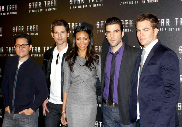 Star Trek premiere in Paris []