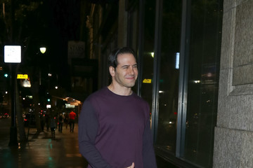 Chris Tasara Celebrities Dine at Katsuya Restaurant