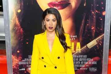 Chrissie Fit Premiere Of Columbia Pictures' 'Miss Bala'