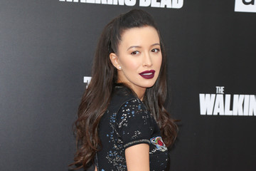 Christian Serratos 'Talking Dead Live' for the Premiere of 'The Walking Dead'