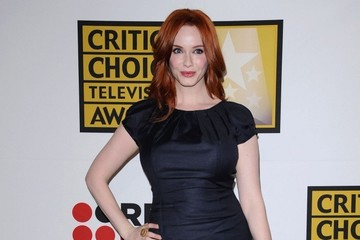 Christina Hendricks Critics' Choice Television Awards