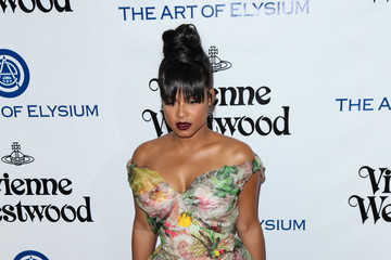 Christina Milian Celebrities Attend Art of Elysium's 9th Annual Heaven Gala