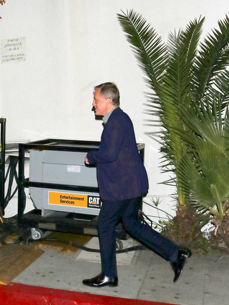 Christoph Waltz Outside Chateau Marmont In West Hollywood