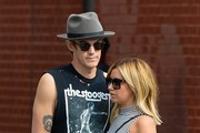 Christopher French and Ashley Tisdale Keep Busy