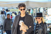 Christopher French and Ashley Tisdale are seen in Los Angeles, California.