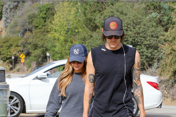 Christopher French Christopher French and Ashley Tisdale Go on a Hike