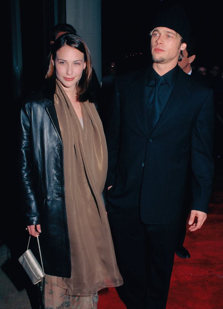 Claire Forlani rumored to have dated Brad Pitt before her ...