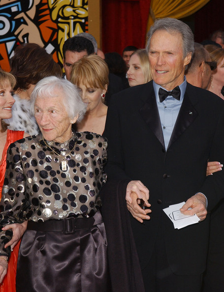 Photo of Clint Eastwood & his  Mother  Ruth