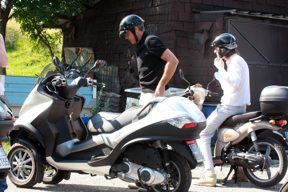 George Clooney Motorcycle Collection Pictures to Pin on ...