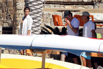 George ClooneyElisabetta Canalis George Clooney and Elisabetta Canalis on Vacation