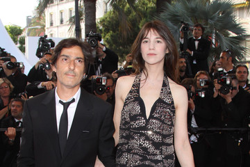 """Charlotte Gainsbourg Yvan Attal """"Coco"""" Premiere at Cannes"""